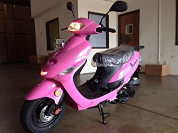 51ZVrAqsh L._SX355_ amazon com taotao atm 50cc sporty scooter (pink) sports & outdoors  at soozxer.org