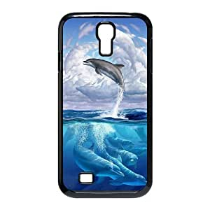 DIY High Quality Case for SamSung Galaxy S4 I9500, Dolphins Phone Case - HL-R679682