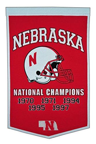Winning Streak NCAA Nebraska Cornhuskers Dynasty Banner