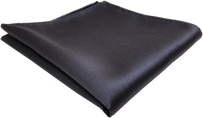 Tuch 100/% Polyester TigerTie sch/önes Einstecktuch gr/ün dunkelgr/ün tannengr/ün einfarbig