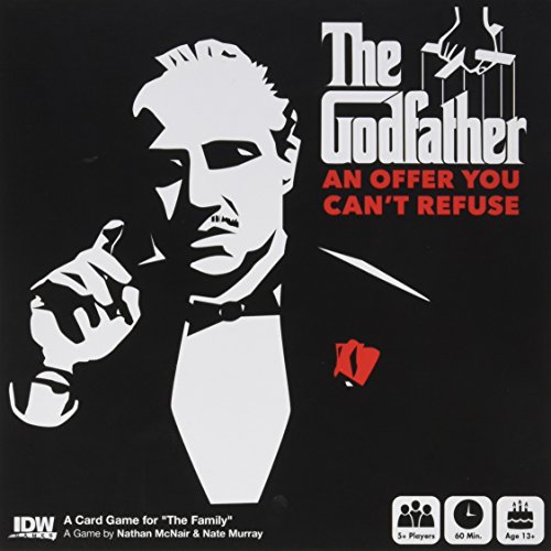 IDW The Godfather: an Offer You Can't Refuse Card Game, Multicolor