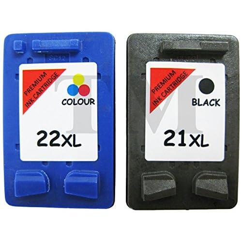 bc6c22078c3ebf best reconditionnées 21 xl Noir   22 xl couleur cartouches d encre Combo  Compatible avec