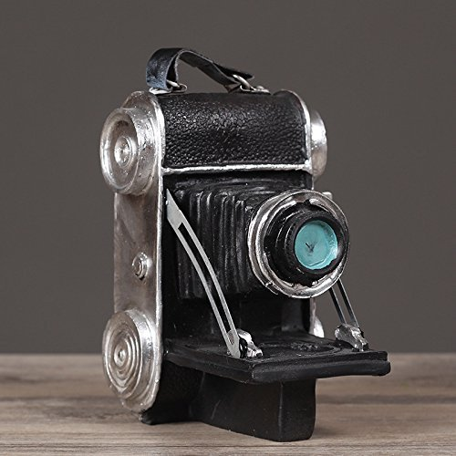 Faraway Resin Vintage Replica Camera Model Light Manipulator Model Photo Props Cafe Decor Home Decoration