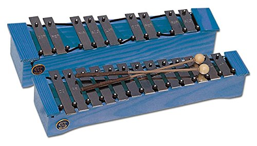 Carrillón soprano cromático azul