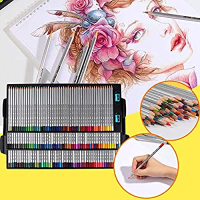 Set Of 14 Sketch Art Drawing Pencil Sketching Oil Base Artist Sketch Soft FJ