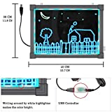 """MBQMBSS LED Message Writing Board 16"""" X"""
