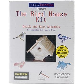 Pinepro Unfinished Wood Kit, Bird House