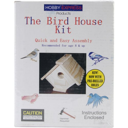 Pinepro Unfinished Wood Bird House Kit