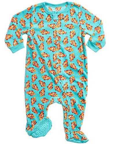 Leveret Fleece Sleeper Pajama Fish 5 (Dolly Infant Blankets)