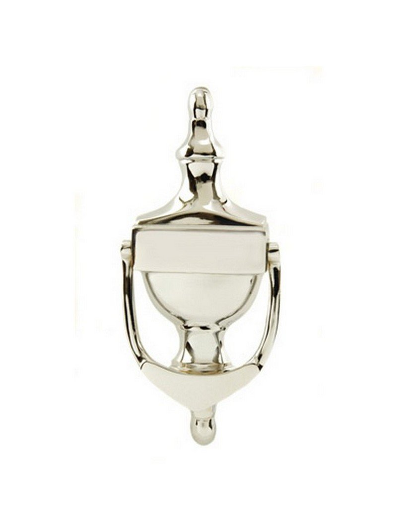 UAP 6 Inch Victorian Urn Door Knocker Concealed Fix in Chrome Face Fixed