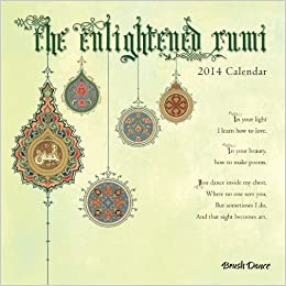 2014 Enlightened Rumi Mini Wall Calendar