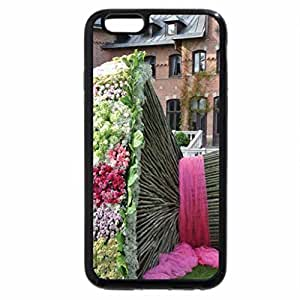 iPhone 6S / iPhone 6 Case (Black) Giant Bouquet of Flowers