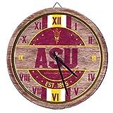 FOCO Arizona State Sun Devils NCAA Barrel Wall Clock