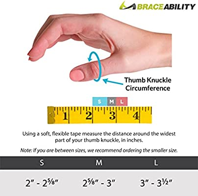 BraceAbility Hard Plastic Thumb Splint | Arthritis Treatment Brace to Immobilize & Stabilize CMC, Basal and MCP Joints for Trigger Thumb, Tendonitis Pain, Sprains (Medium - Right Hand)