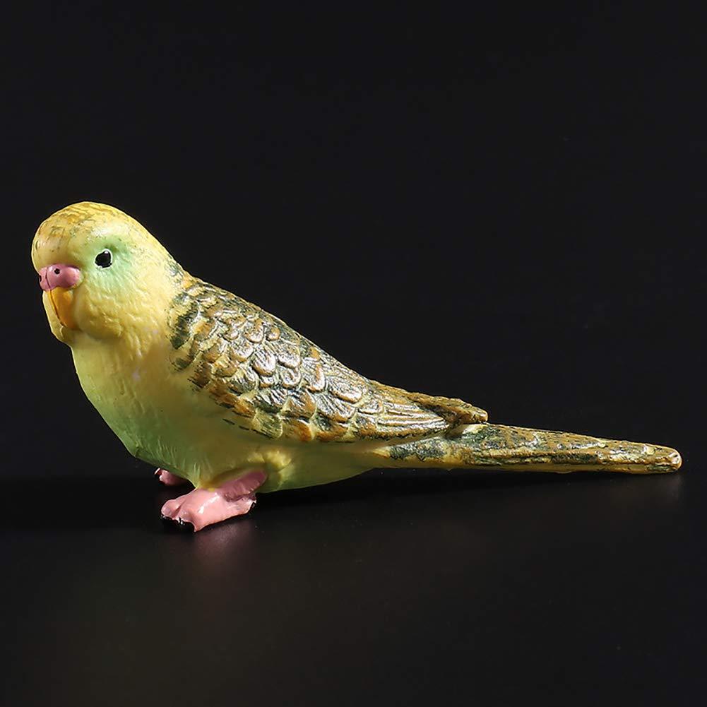 little finger Emulation Pappagallo Budgerigar Uccello Modello Giocattolo Plastica Craft Decoration