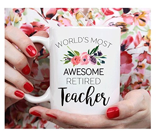 Most Common Halloween Costumes For Adults (Teacher Retirement gift, retirement mug gift for teacher, World's most awesome retired teacher)