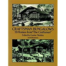 """Craftsman Bungalows: 59 Homes from """"The Craftsman"""" (Dover Architecture)"""