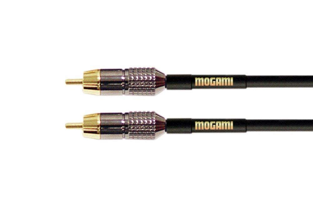 Mogami RCA-RCA 06 Mono RCA 6 feet Mogami Cable GOLD RCA-RCA-06