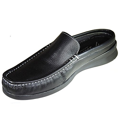 CAF NOIR zapatos negros EB311 Inglesina deslizamiento del dedo del pie en la pintura Inglés 37 h00EWmOtH