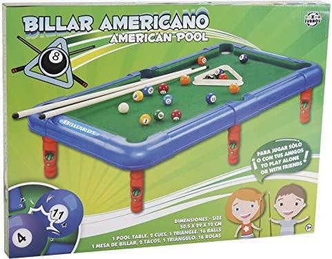 XTURNOS Billar Americano 50 cm: Amazon.es: Juguetes y juegos