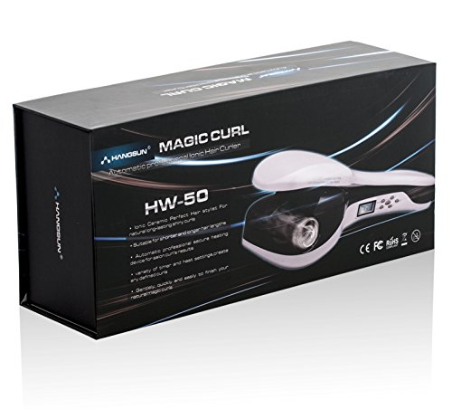 Hangsun Curler HW50 Lonic Automatisch Curl Lockenmaschine Anionen-Technologie Keramik-Turmalin-Beschichtung und LCD Display