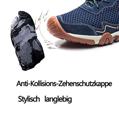 Deportes Zapatillas Rise Trekking Hombre Botas de b Libre Low de Aire Senderismo Dannto Azul Zapatos Ocio y al para Zapatos de Running wqaxCvzT