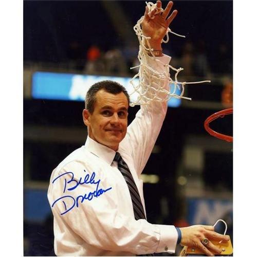 Billy Donovan Autographed Florida Gators (06 Final Four Cutting Net) 8x10 Photo