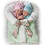 Ashton-Drake Lifelike Twin Baby Doll Set By Donna Lee: Madison And Mason by The Ashton-Drake Galleries