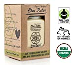 butter Organic Shea Butter: Highest Quality Unrefined Rare Nilotica, Certified Fair-Trade - Nourishes, Replenishes and Protects Skin and Hair - 8oz