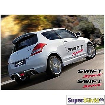 Suzuki Swift Sport Seitenstreifen Autoaufkleber Tuning Aufkleber