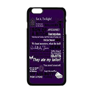 Personalized iPhone 6 Case, Supernatural Quotes iPhone Case, Custom iPhone 6 Cover (4.7 inch)