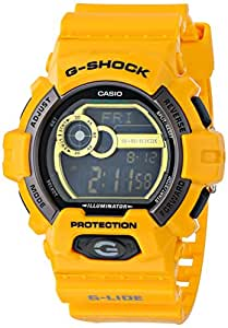 G shock gls 8900 9 gls winter g lide classic series men 39 s stylish watch yellow for Winter watches