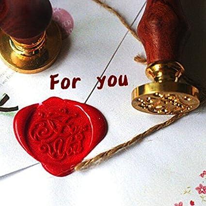 Amazon com: Stamp - Wedding Custom Greeting Envelope Seal