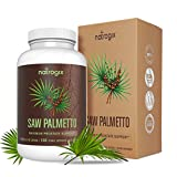 Saw Palmetto Extra Strength for Prostate Health by Natrogix – High Potency Extract to Promote Healthy Urination Frequency & Help Naturally Block DHT Prevent Hair Loss – 650mg / Serving
