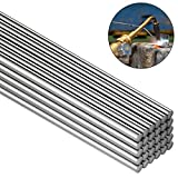 30 Pieces Copper Aluminum Welding Rods 0.08 x 10