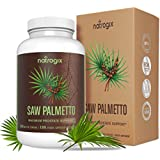 Säge Palmetto Extra Strength for Prostate Health by Natrogix - High Potency Extract to Promote Healthy Urination Frequency & Help Naturally Block DHT Prevent Hair Loss - 650mg / Serving