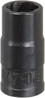 product image for SK Hand Tool 780 8mm 5/16-Inch Standard Drive Socket Turbo, 1/4-Inch