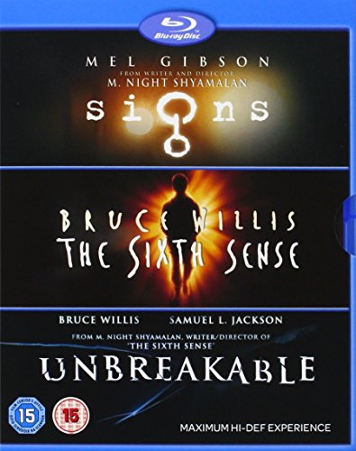 M Night Shyamalan Collection (Signs/The Sixth Sense/Unbreakable) [Blu-ray]