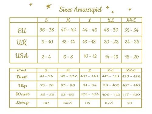 36 T Nera shirt da skin Amarsupiel skin donna 38 to S Taglia TazSZqTPw