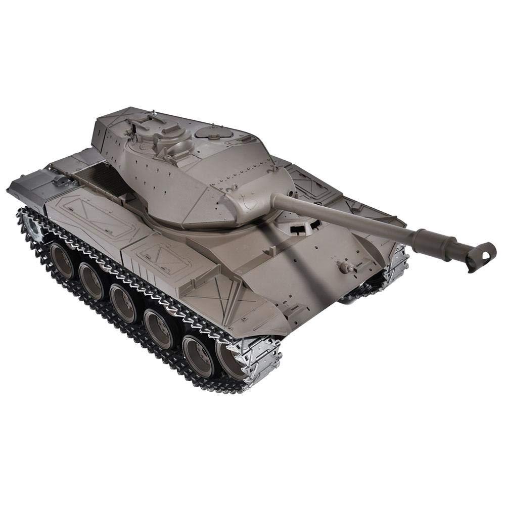 Drfeify RC Tank,Modello Serbatoio del Telecomando 1 16 Heavy RC Battle Walker Tank Modello Toy per Bambini