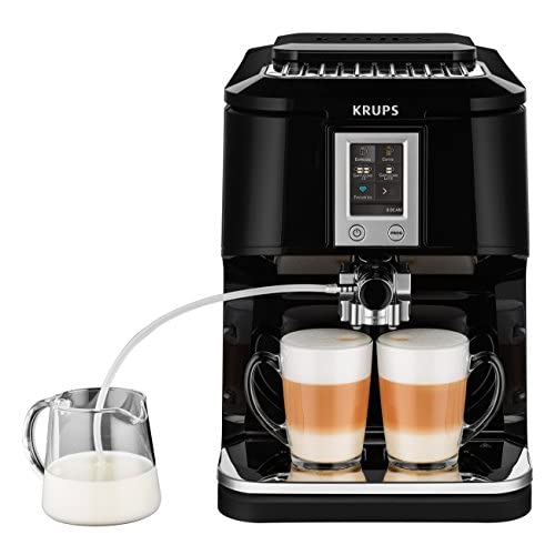 Krups eA8808 2 en 1-touch machine capuucino 1,7 l (noir)