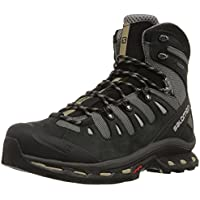 Salomon Men's Quest 4D 2 GTX Lightweight & Durable Leather / Canvas Hiking Boots for Backpacking, Trekking & Other Outdoor Activities