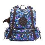 Kipling Joetsu Printed Backpack, Fresh Freesia, One Size