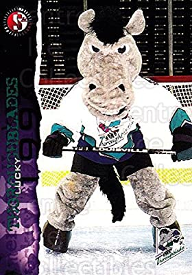 Mascot Hockey Card 1996-97 Kentucky Thoroughblades 22 Mascot