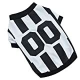 OutTop Pet Dogs Football Shirt Sports Clothes Spring Summer (A, L)