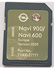 SD-kaart GPS Opel NAVI600 NAVI900 Europa 2020/2021