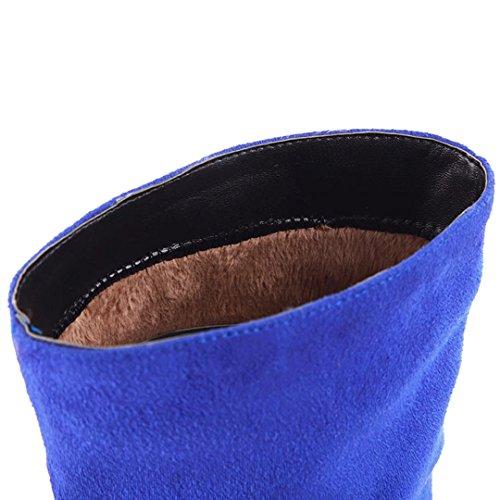 AIYOUMEI AIYOUMEI Classic Classic Blue Boot Classic AIYOUMEI WoMen Blue WoMen WoMen Boot qnU10AqwIx