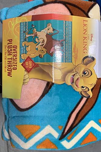 Disney The Lion King Oversized Plush Throw (The Lion King Throw Blanket)