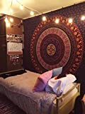 What Is an Eastern King Size Bed Wall Hanging Cotton Tapestry Bohemian Bed Spread Table Top Cover Bedsheet Coverlet. King Size Bed throw