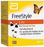 100 Freestyle Lite Test Strips